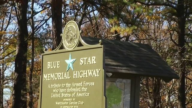 Blue Star Memorial marker dedicated on Mill Mountain