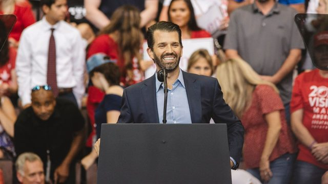 Donald Trump Jr. to speak at Liberty University this week