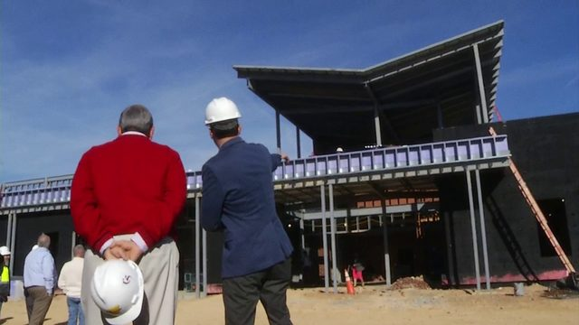 'On budget, on target': Cave Spring High School construction more than…