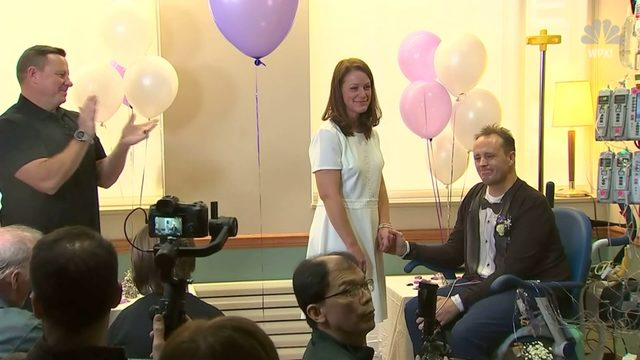 "Pennsylvania man waiting for heart transplant says ""I Do"" in the ICU"